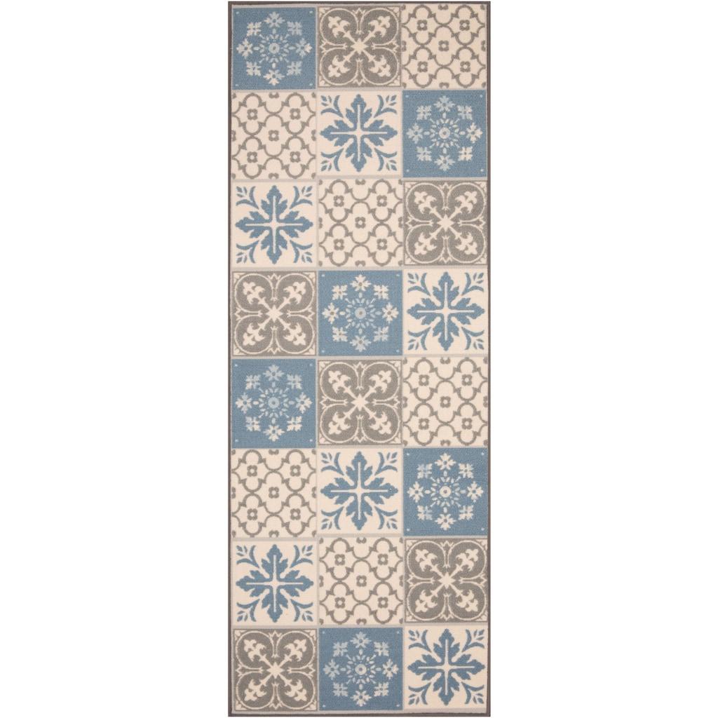Zala Living Küchenläufer »Mare«, rechteckig, 8 mm Höhe, Kurzflor, gekettelt