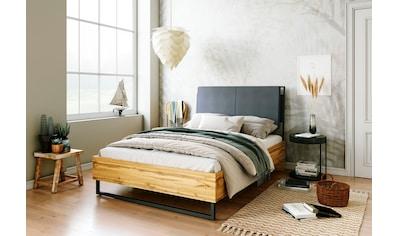 andas Bett »Calypso«, toller Materialmix aus Stoff, Holz und Metall kaufen