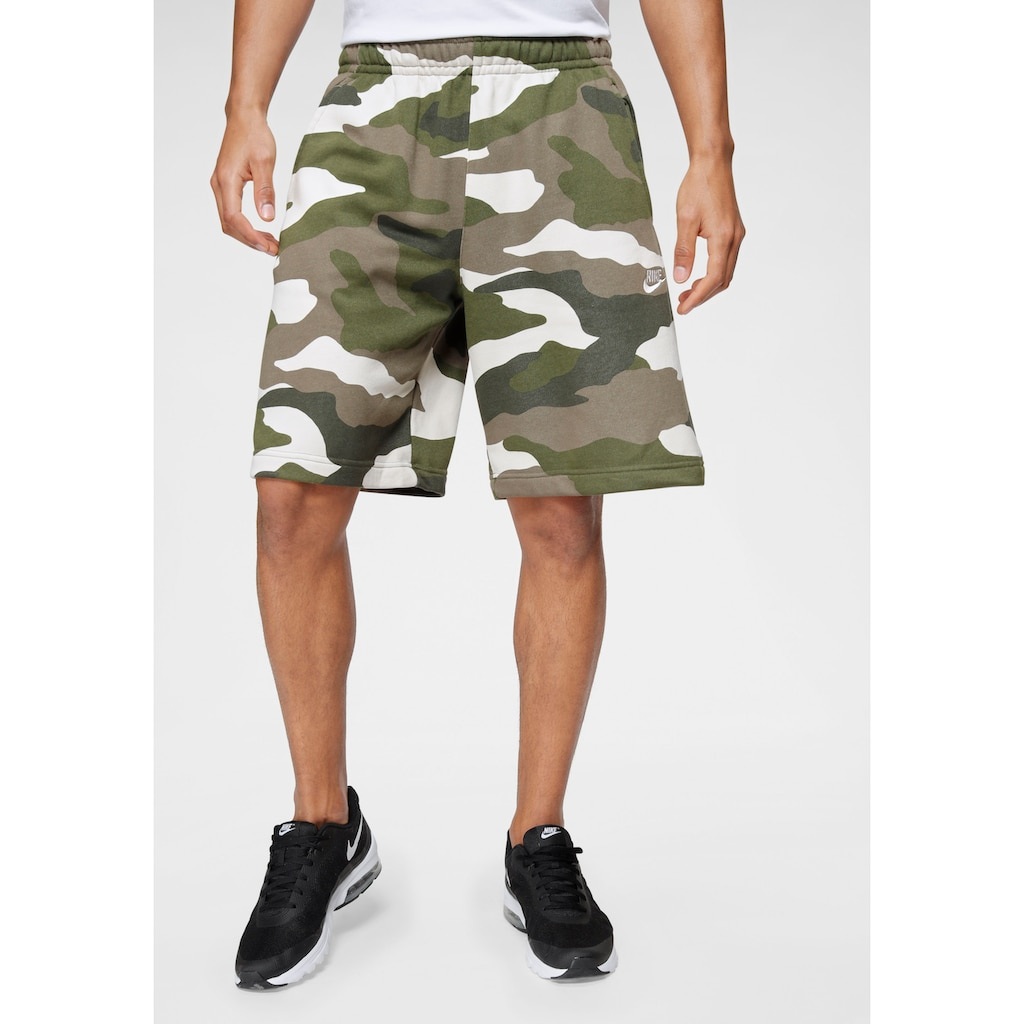 Nike Sportswear Sweatshorts »Men's French Terry Camo Shorts«