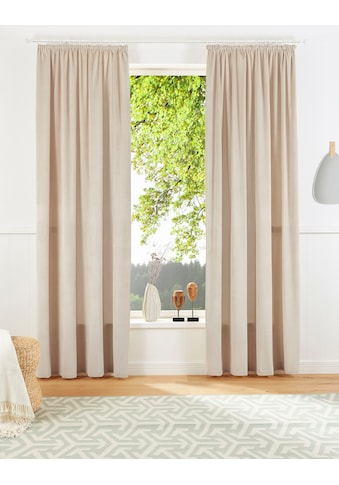 Vorhang, »Tromso - Cord«, andas, Kräuselband 1 Stück kaufen