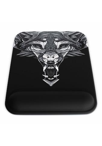 Titanwolf Gel Mauspad mit Handgelenkauflage kaufen