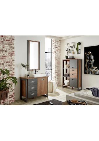 Home affaire Badmöbel-Set »Detroit«, (Set, 3 St.), inklusive Aufsatzwaschbecken aus... kaufen