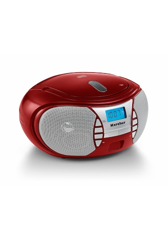 Karcher CD-Radiorecorder »RR 5025-R«, (CD 2.2 W) kaufen