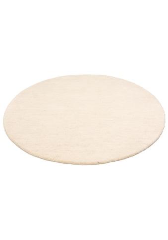 Leonique Wollteppich »Punam«, rund, 28 mm Höhe, reine Wolle, echter Berber,... kaufen