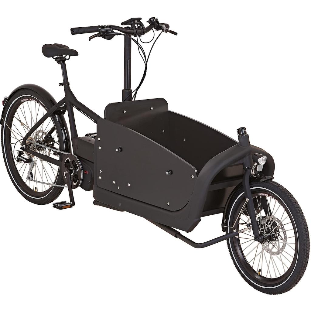 Prophete E-Bike »PROPHETE CARGO E-Bike 1.1«, 8 Gang, Mittelmotor 250 W