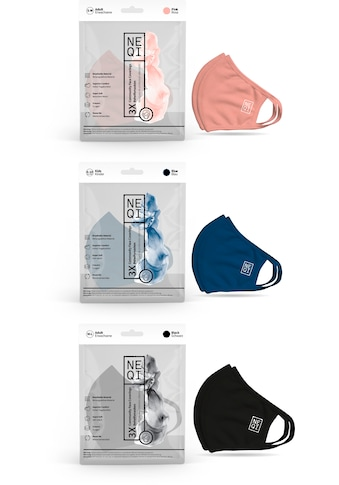 NEQI Mund-Nasen-Masken, für die ganze Familie kaufen