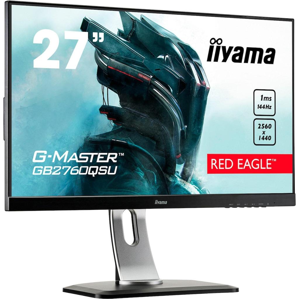 """Iiyama Gaming-LED-Monitor »GB2760QSU-B1«, 68,5 cm/27 """", 2560 x 1440 px, WQHD, 1 ms Reaktionszeit, 144 Hz"""