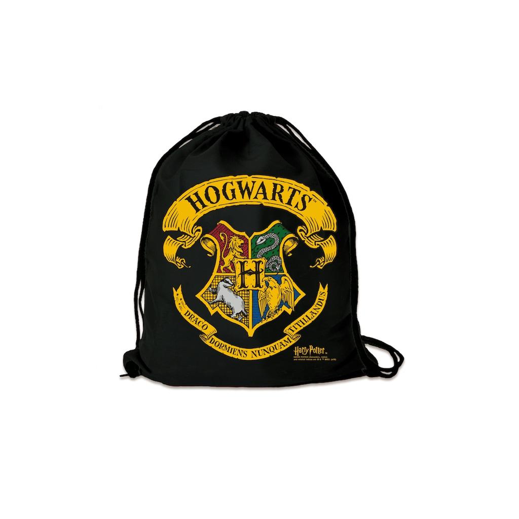 LOGOSHIRT Turnbeutel, mit Hogwarts-Wappen