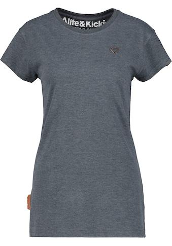 Alife & Kickin T-Shirt »MaxiAK A«, sportives Longshirt in schönen Uni-Farben kaufen