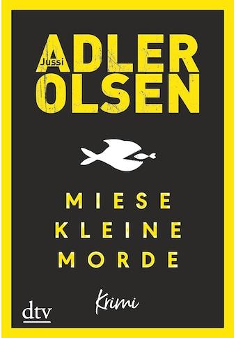 Buch »Miese kleine Morde / Jussi Adler-Olsen, Hannes Thiess« kaufen
