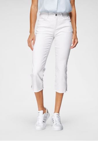 Bruno Banani 3/4-Jeans, Mit Fransensaum kaufen