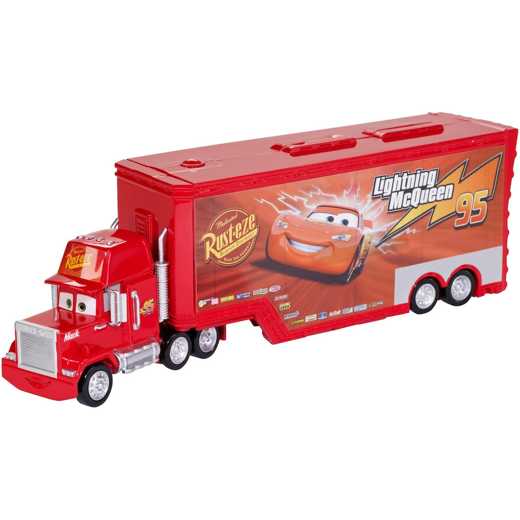 Mattel® Spielzeug-Auto »Disney Cars Transporter Spielset Mack«, verwandelbar
