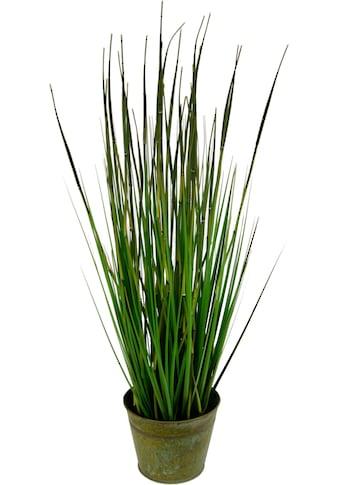 I.GE.A. Kunstpflanze »Bambusgras im Metalltopf« kaufen