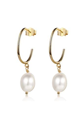AILORIA Paar Ohrstecker »SHIZUMI Ohrringe gold/weiße Perle«, Glänzendes Finish kaufen