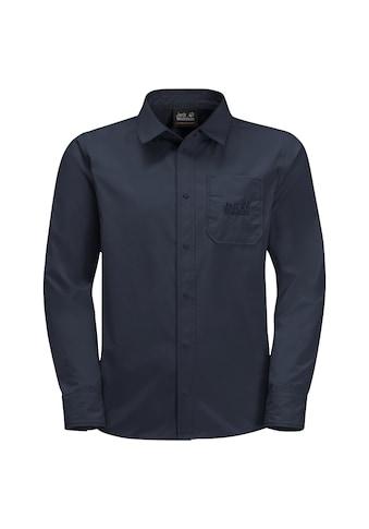 Jack Wolfskin Langarmshirt »LAKESIDE SHIRT KIDS« kaufen