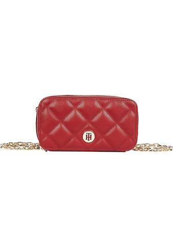 Tommy Hilfiger Mini Bag »HONEY MINI CHAIN CROSSOVER QUILT«, mit modischer Ziersteppung kaufen