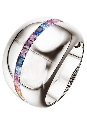 XENOX Fingerring »Wonderland, XS3230/52, 54, 56, 58,«, mit Zirkonia kaufen