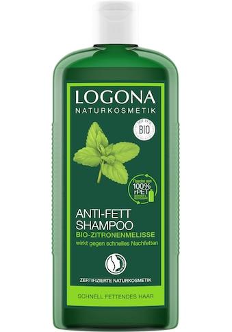 LOGONA Haarshampoo »Logona Anti-Fett Shampoo Zitronenmelisse« kaufen
