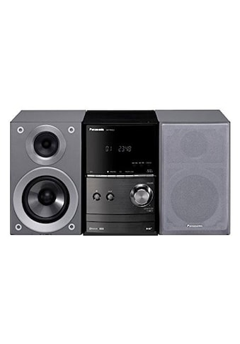 Panasonic »SCPM602« Kompaktanlage (FM - Tuner mit RDS,Digitalradio (DAB+), 40 Watt) kaufen