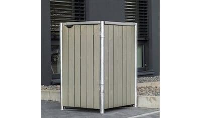 Hide Mülltonnenbox, für 1 x 240 l, grauxnatur kaufen