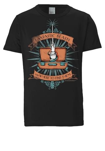 LOGOSHIRT Print-Shirt »Phantastische Tierwesen«, mit tollem Frontprint kaufen