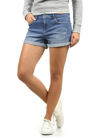 Blendshe Jeansshorts »Andreja«, kurze Hose mit Destroyed-Effekten kaufen