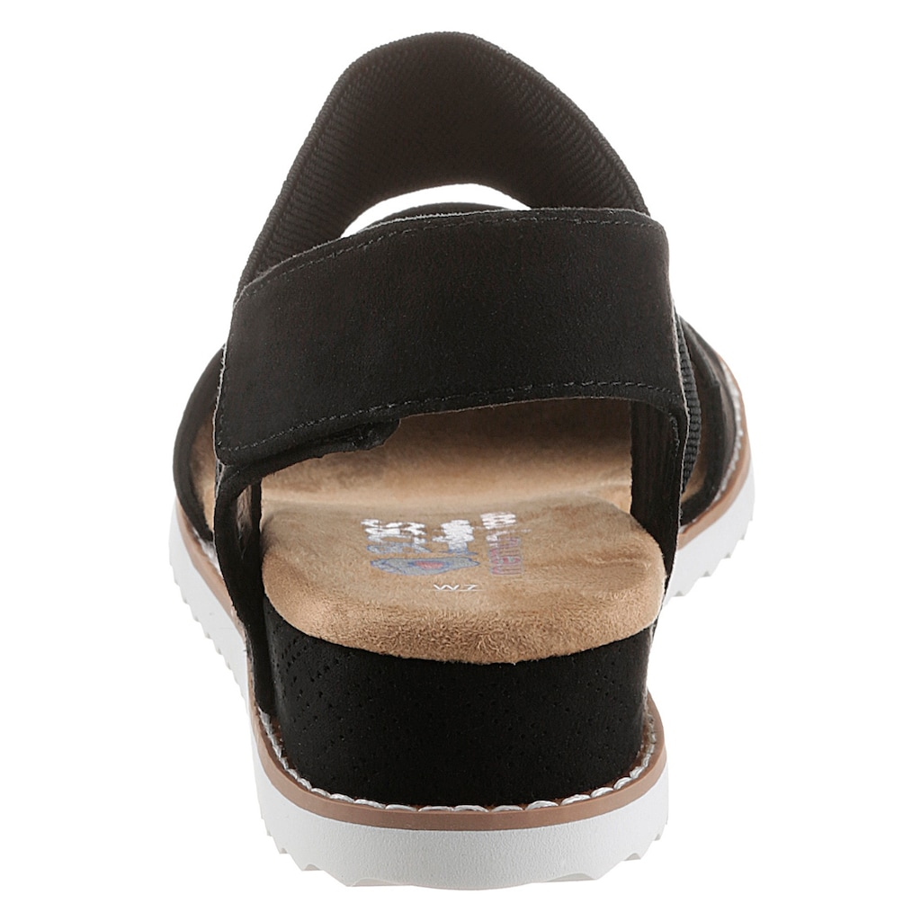 Skechers Sandalette »Desert Kiss«, mit feinem Lasercut