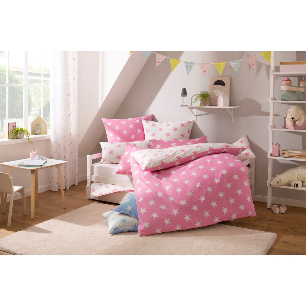 Lüttenhütt Kinderbettwäsche »Stella«, mit niedlichen Sternen