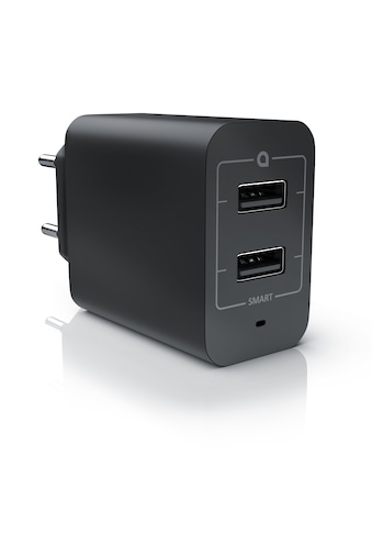 Aplic 2-Port USB Netzteil für Handy/Smartphone/Tablet uvm. »Ladegerät mit 4800mA... kaufen