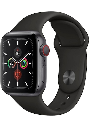 Watch Series 5 GPS + Cellular, Aluminium space grau, 44 mm mit Sportarmband, Apple kaufen