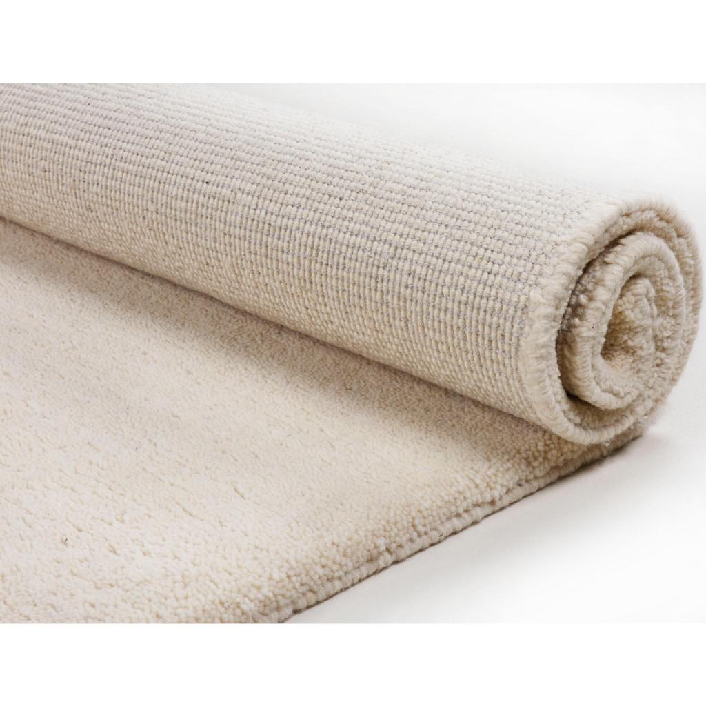 THEKO Wollteppich »Taza Royal«, rechteckig, 28 mm Höhe, echter Berber, reine Schurwolle, handgeknüpft, Wohnzimmer