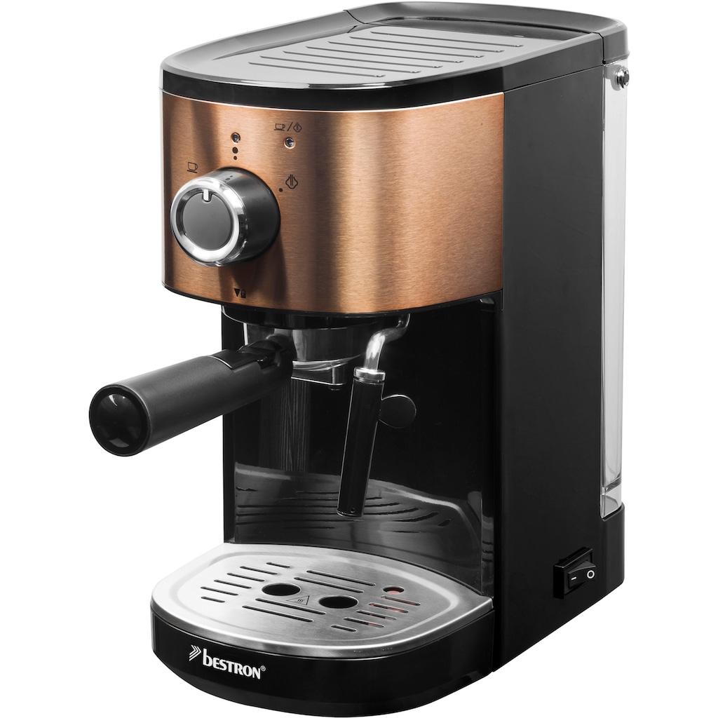 bestron Espressomaschine »AES1000CO«