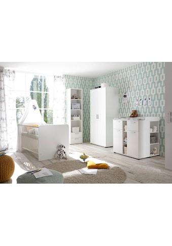 Begabino Babyzimmer-Komplettset »Bibo«, (Set, 3 St.), Bett + Wickelkommode + 2-trg.... kaufen