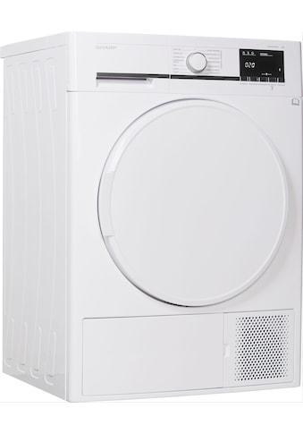 Sharp Wärmepumpentrockner »KD-GHB7S7PW2-DE« kaufen
