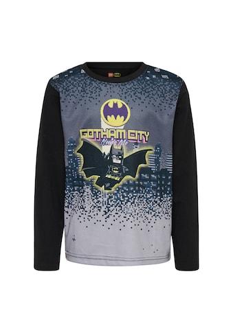 "LEGO® Wear Langarmshirt »CM-51121«, mit Batman und dem Bat Symbol ""Gotham City"". kaufen"