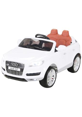 ACTIONBIKES MOTORS Elektroauto »Audi Q7«, für Kinder von 3 - 6 Jahre, 12 Volt kaufen