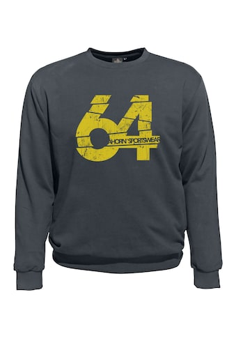 AHORN SPORTSWEAR Sweatshirt, mit kontrastierendem Frontdruck kaufen