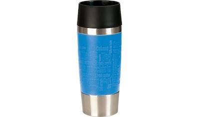 Emsa Thermobecher »Travel Mug«, (1 tlg.), Edelstahl, 360 ml Inhalt, auslaufsicher, 4h... kaufen