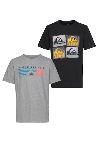 Quiksilver T - Shirt »SAME LINES FLAXTON PACK YOUTH« (Packung, 2er - Pack) kaufen
