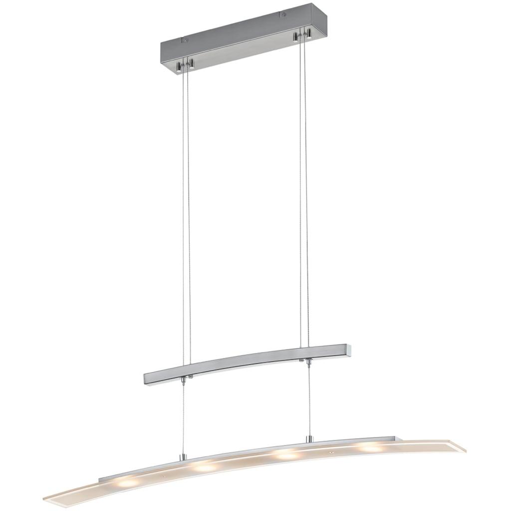 TRIO Leuchten LED Pendelleuchte »Samos«, LED-Modul, Farbwechsler, Sensordimmer,Lichtfarbe einstellbar,Höhenverstellbar