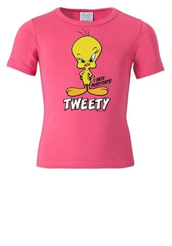 LOGOSHIRT T-Shirt »Tweety«, in lizenzierten Originaldesign kaufen