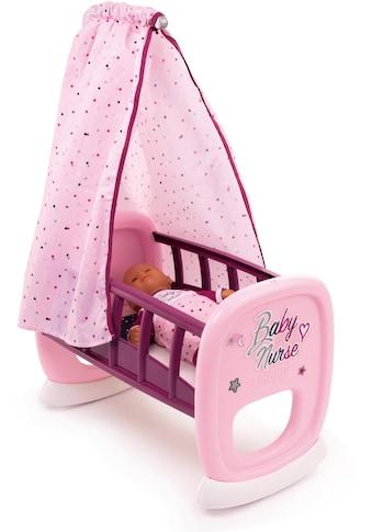 Smoby Puppenwiege »Baby Nurse«, mit Himmel; Made in Europe kaufen