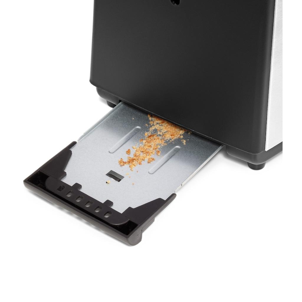 WMF Toaster »BUENO«, 2 kurze Schlitze, für 2 Scheiben, 800 W
