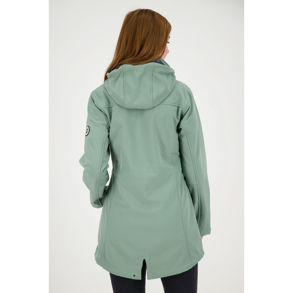 DEPROC Active Softshellmantel »PEAK BREEZE WOMEN«, auch in Großen Größen erhältlich