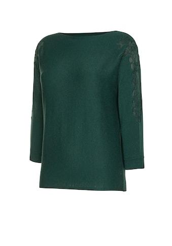 Creation L Premium - Pullover mit besticktem Netz - Einsatz kaufen