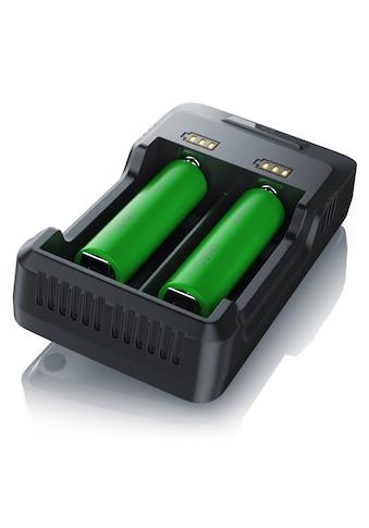 Aplic Batterie-Ladegerät »für Ni-MH / Ni-Cd / Li-ion Akkus«, mit zwei Steckplätzen kaufen