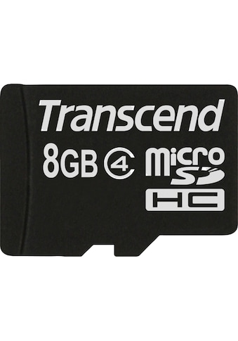 Transcend »microSDHC Class 4« Speicherkarte kaufen