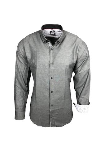 Rusty Neal Langarmhemd mit Button-down-Kragen kaufen