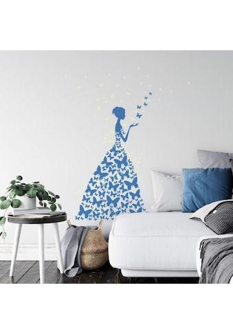 Wall-Art Wandtattoo »Schmetterling Leuchtsticker« kaufen