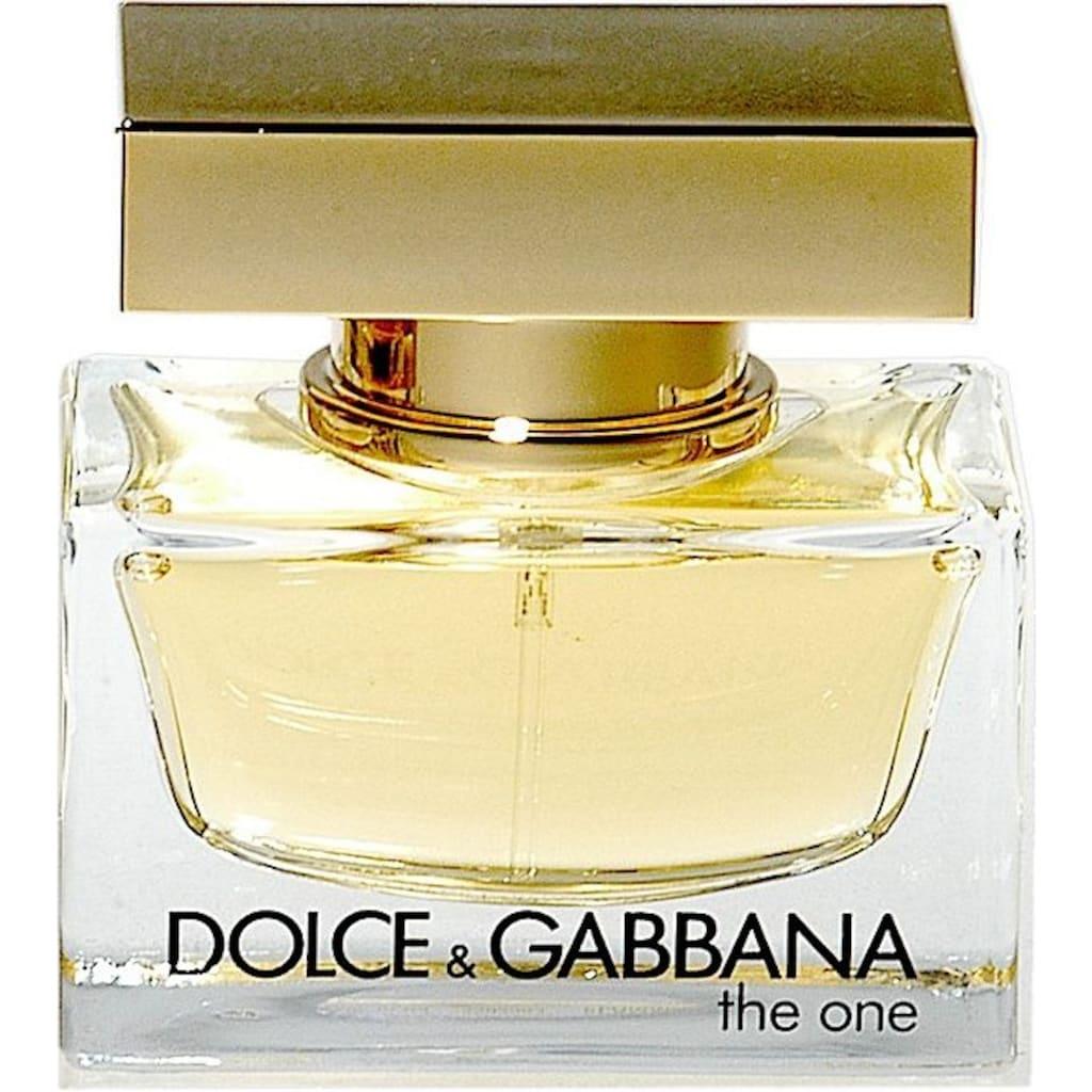 DOLCE & GABBANA Eau de Parfum »The One«